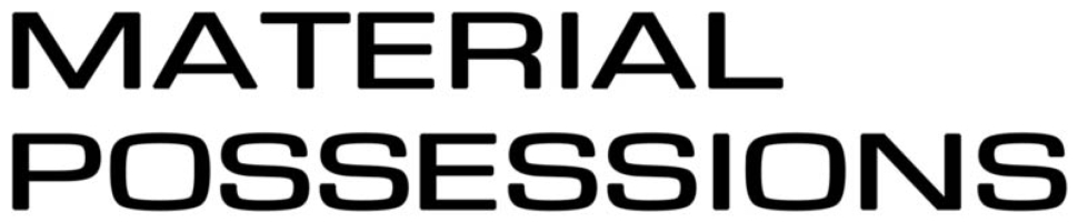 Material Possessions logo